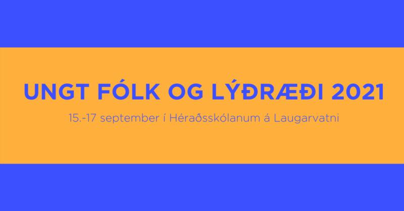 Ungt fólk og lýðræði 2021